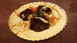 Meniu Hummus Kebab image