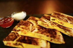 Cheesy quesadilla