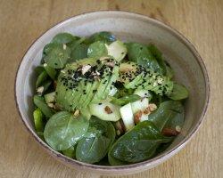 Salata zucchini vegan image