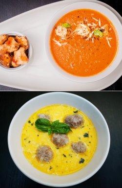 Oricare 2 ciorbe (supe)