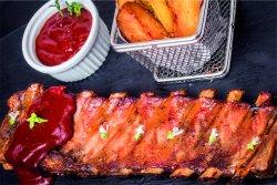 1+1 Coaste de porc cu wedges