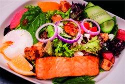 Salată cu somon
