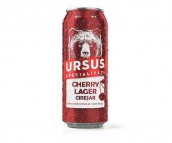 GRATIS - o doză de bere URSUS CHERRY LAGER - la orice comandă image