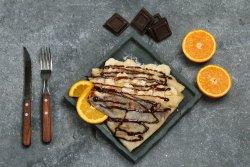 Clătite ciocolată şi banane image