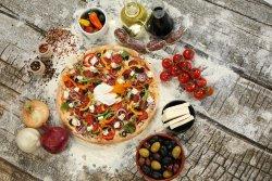 Pizza contadino image