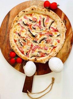 20% reducere: Pizza Proscitto Cotto e funghi  image