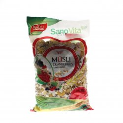 Musli Cranberries 400g SNV
