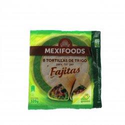 Tortilla lipie moale din grâu Mexifoods 320g MPL