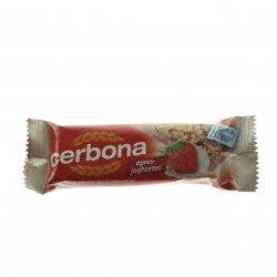 Baton cereale capșuni cu iaurt CERBONA 20g MPL