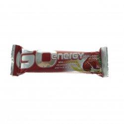 Baton proteic cu cererale, iaurt și căpșuni GO ENERGY 40 G BIJ