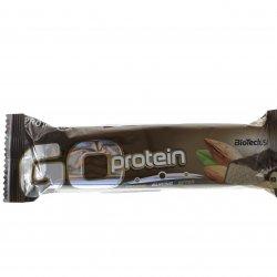 Baton proteic ciocolată marțipan BIOTECH 80g MPL