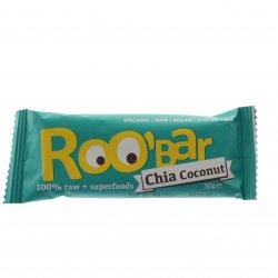 Baton Roobar chia cocos RAW 30g BHS