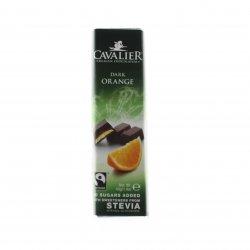 Ciocolată neagră ștevie portocale Cavalier 40g MEL