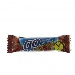 Baton musli coacăze roșii fără gluten Go 23g MPL