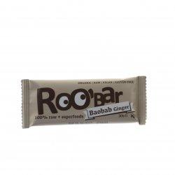 Baton Roobar baobab ghimbir RAW ECO 30g BHS