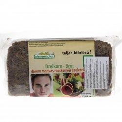 Pâine integrală secară cu 3 semințe Mestemacher 500g MEL