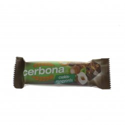 Baton din cereale cu ciocolată și alune CERBONA 20g MEL