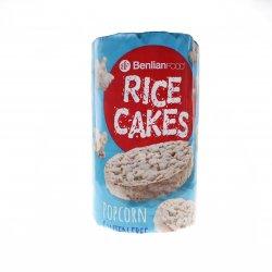 Turte orez expandat pop corn Benlian 100g MPL