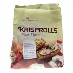 Bruschete fibre fără zahăr Krisprolls 225g MPL