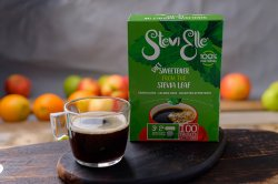 Îndulcitor cu Stevia Granule 100 plicuri