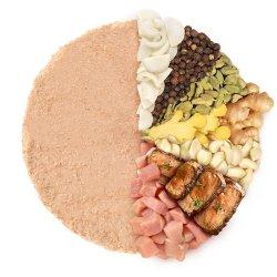 Pate cu ficat de porc și usturoi ECO – 100g