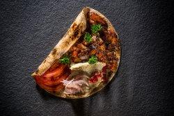 Kebab de pui cu sos de vinete și rodii image