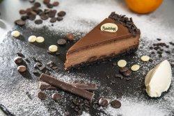 Cheesecake cu ciocolată neagră