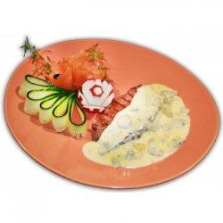 Mușchi de vită cu sos de gorgonzola image
