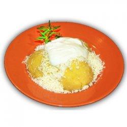 Mămăliguță cu brânză și smântână image
