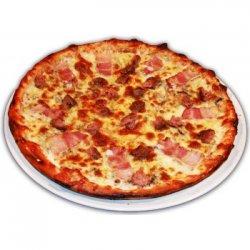 Pizza Bănățeană cu Mici image
