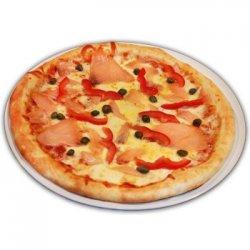 Pizza con Salmone Affumicato image