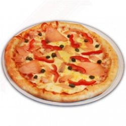 Pizza con Salmone Afumicatto 1+1 image