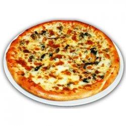 Pizza Funghi e Salami image