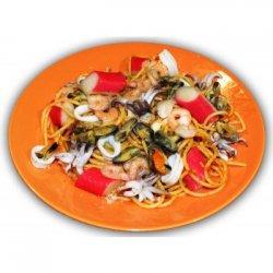 Spaghetti Mediterranea
