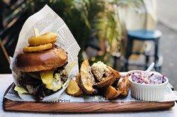 Salon big boy burger image