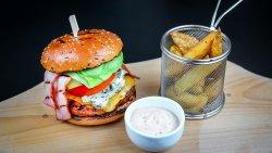 Burger premium vită + Pepsi image