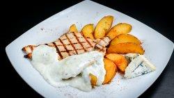 Pui gorgonzola și cartofi cu rozmarin image