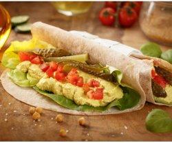 Hummus Wrap image