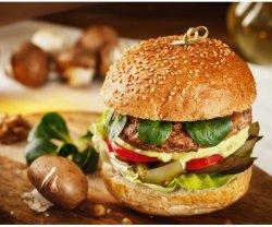 Smiley pig Burger image