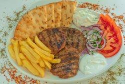 Bifteki farfurie image