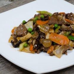 Bo Xau Rau - Vita cu bambus si ciuperci