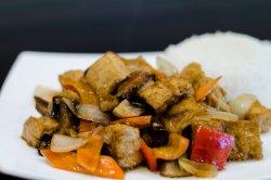 Tofu Xao Nam - Tofu cu ciuperci image