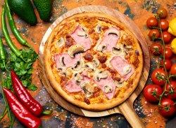Pizza Prosciuto Funghi image