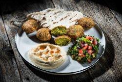 Trio Veggie Falafel image
