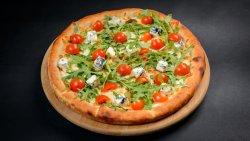 Pizza gorgonzola con rucola image
