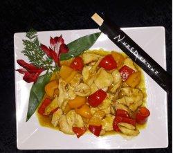 Pui cu curry image