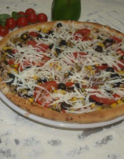 Pizza Lacto Vegetariana 40 cm