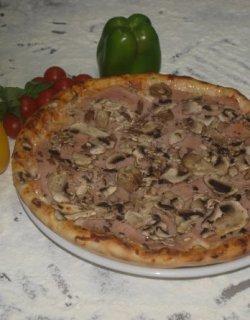 Pizza Prosciutto e Funghi 40 cm