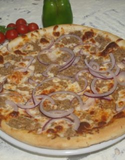 Pizza Tonno e Cipolla 40 cm