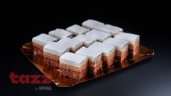 Mini prajituri trio chocolate - 500 grame image
